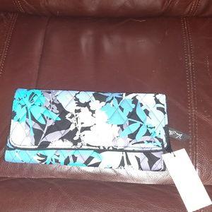 NWT Vera Bradley Camofloral trifold wallet